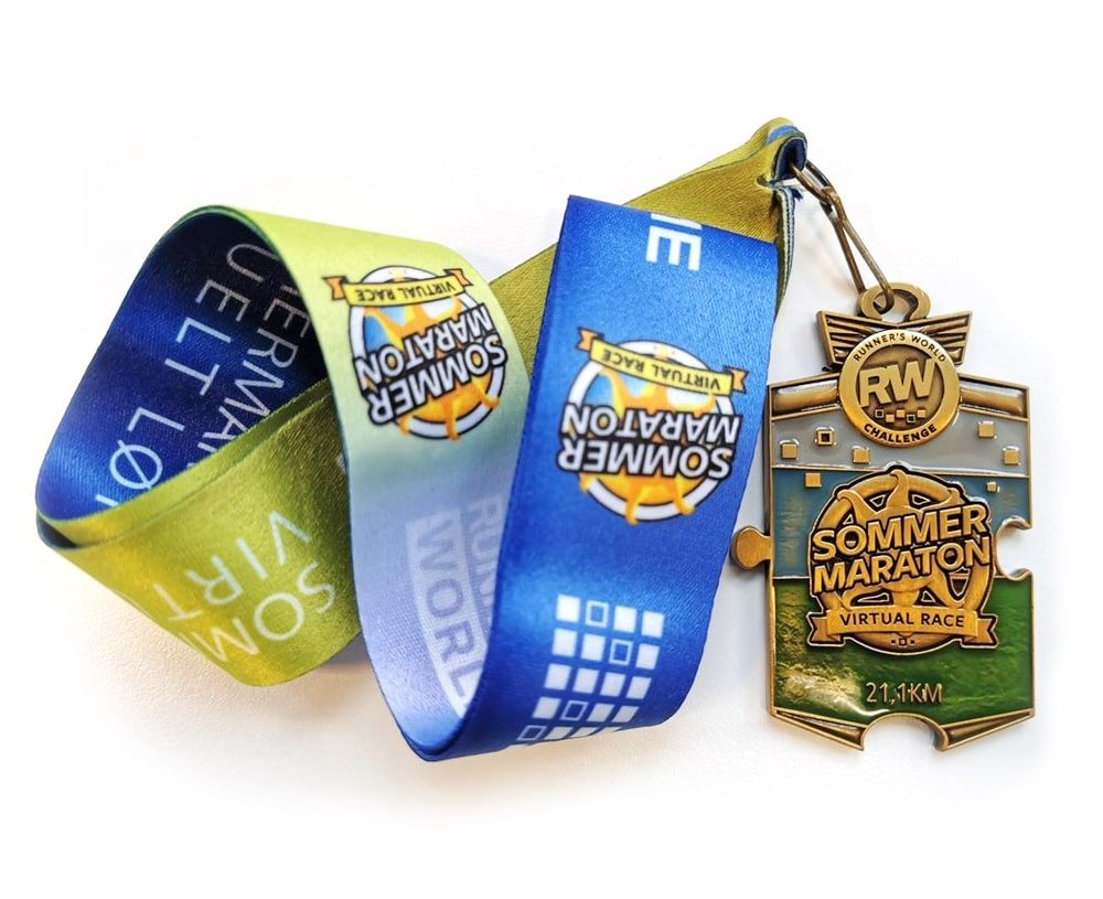 medalje med bånd